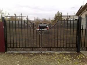 ворота_распашные_5